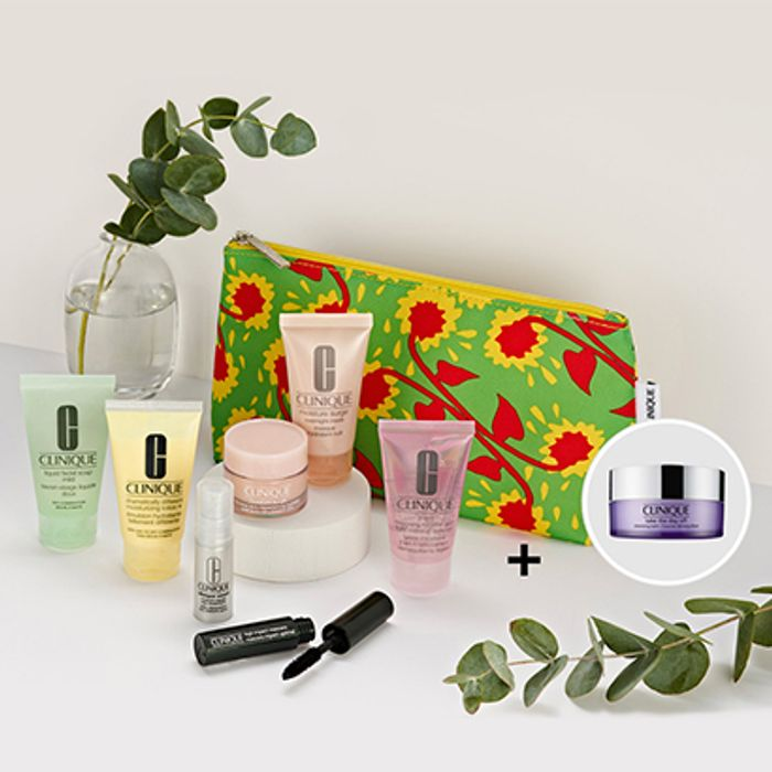 Exclusive Free* Beauty Gift from Clinique When You Purchase Two Products