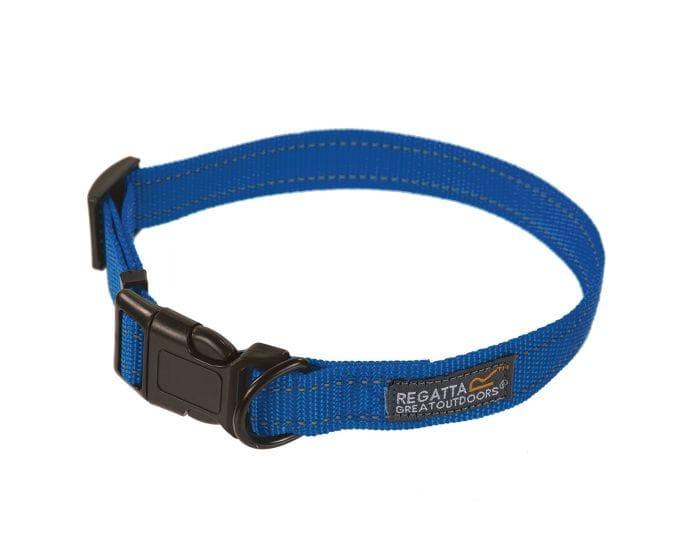Best Price! Regatta Comfort Hardwearing Dog Collar 45-70cm - Oxford Blue