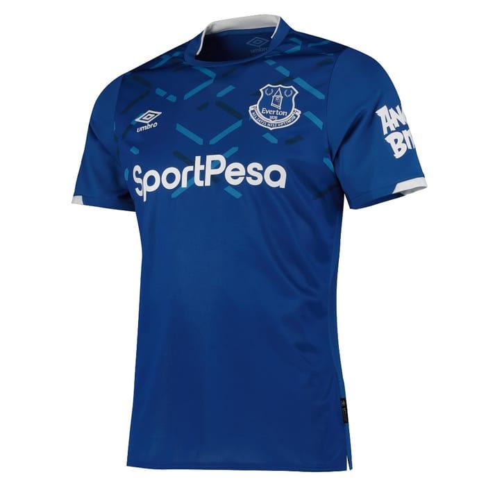 Everton Home Shirts