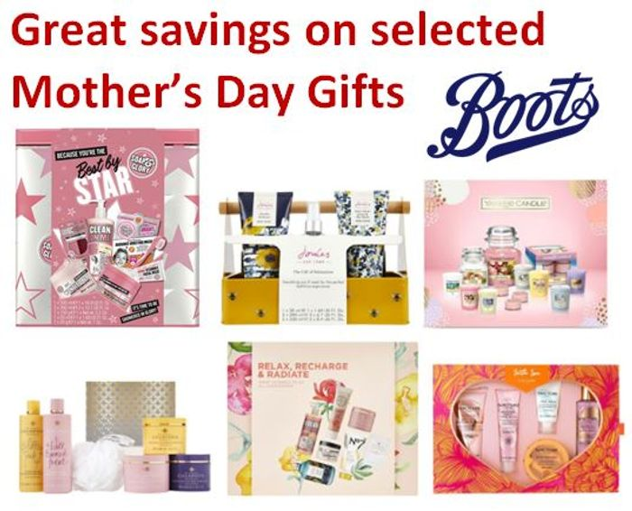 Boots MOTHER'S DAY GIFT Deals