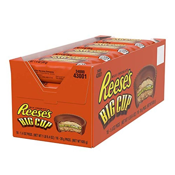 Amazon Subscribe Reese's Peanut Butter Big Cup 39 G (Pack of 16)