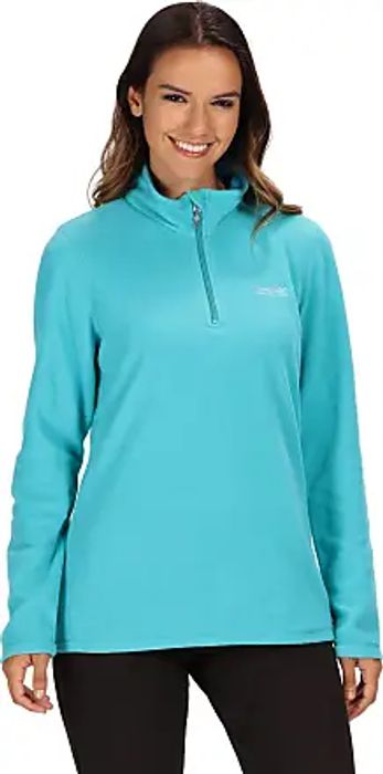 Best Price! Regatta Ladies Sweetheart 1/4 Zip Fleece Top