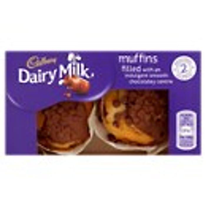 Cadbury Dairy Milk Muffins