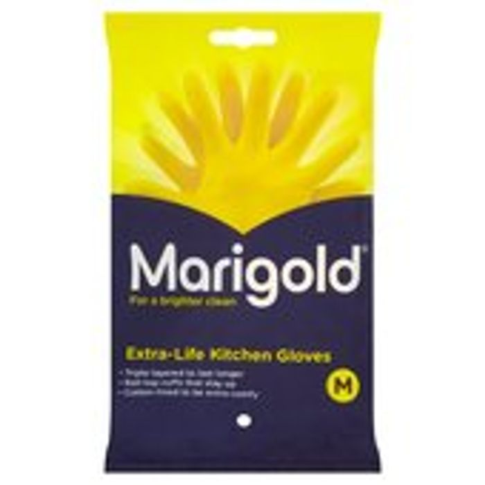Marigold Extra Life Kitchen Medium Gloves 1pair