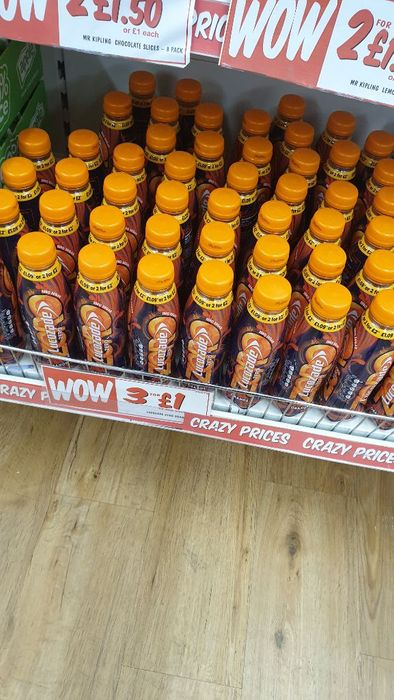 Lucozade Sugar Free 3 for £1