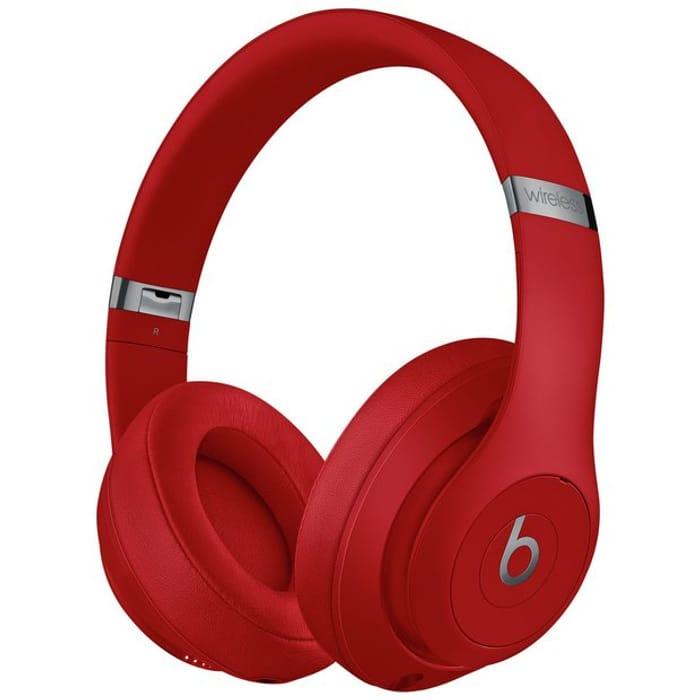 Beats by Dre Studio 3 Wireless Over-Ear Headphones - Red