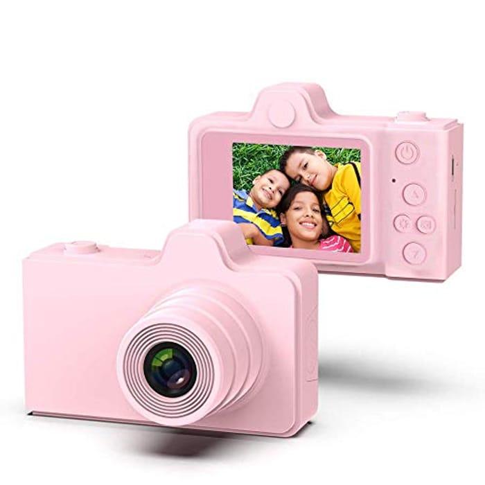 TRD Kids Digital Camera 2.0 Inch IPS Screen 8MP Video Digital Camera