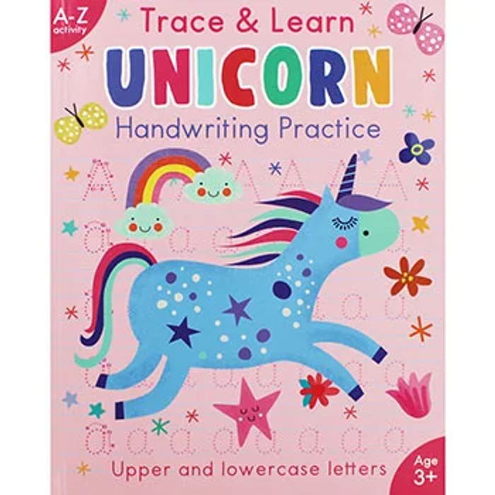 Trace and Learn Unicorn Handwriting Practice - Save £4.49!