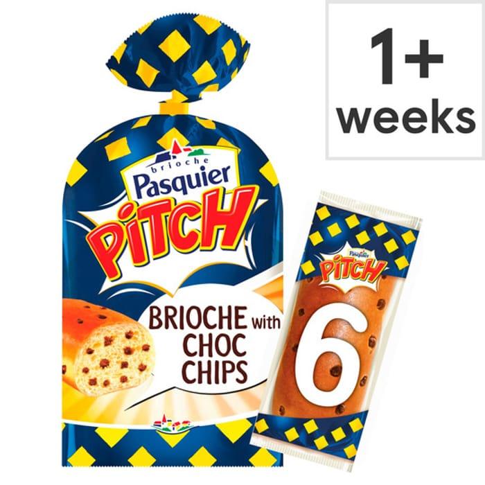 Pitch Chocolate Chip Brioche Roll 6 Pack