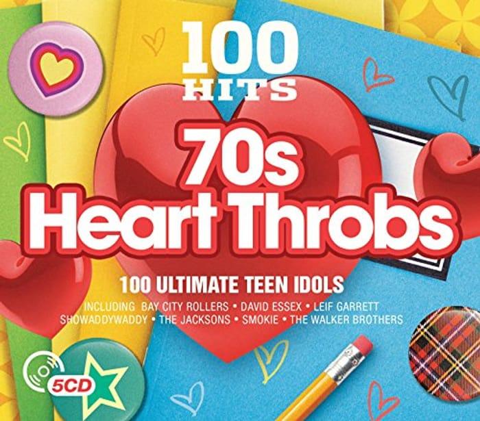 Best Ever Price! 100 Hits 70s Heart Throbs 5 CD Box Set