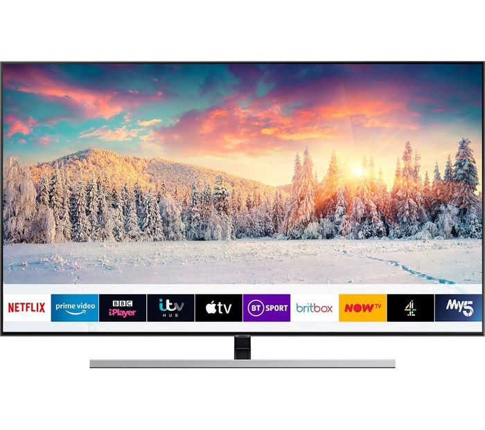 "*SAVE £400* SAMSUNG 55"" Smart 4K Ultra HD HDR QLED TV £899 with Code"