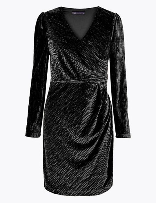 Velvet Bodycon Mini Dress