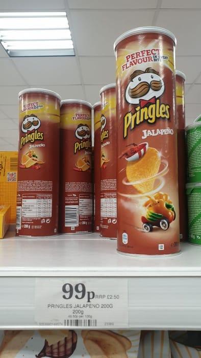 Jalapeno Pringles 99p
