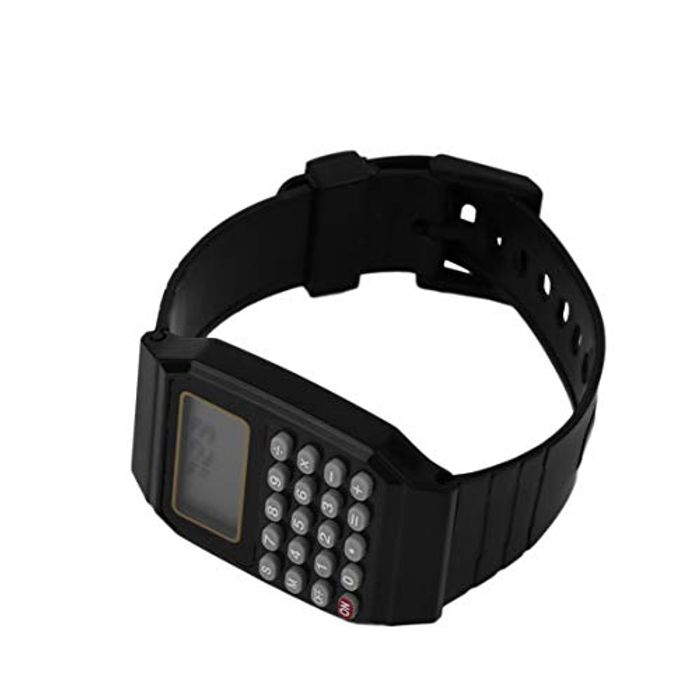 Silicone Calculator Wrist Watch for Kids