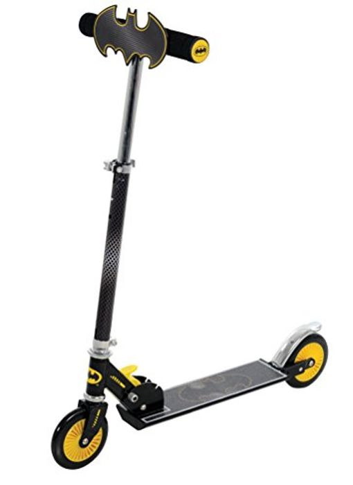 Cheap BATMAN Folding in Line Scooter with Plaque - Save £12!