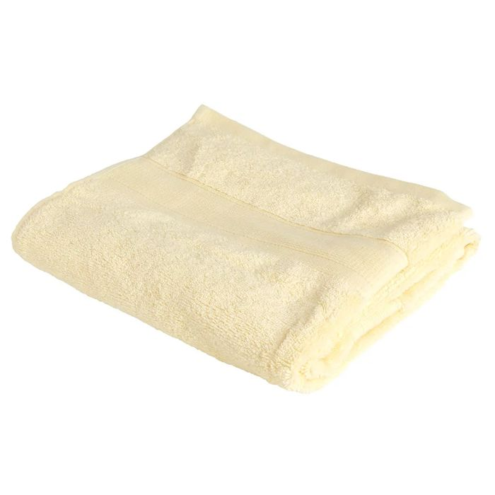 Wilko Supersoft Lemon 100% Cotton Hand Towel