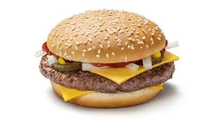 TODAY: 99p Quarter Pounder with Cheese or 99p Veg Deluxe