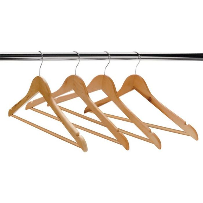 Wooden Hangers - Set of 10 Down From £7 to £4.66