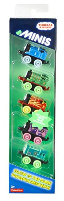 Thomas & Friends DRL94 Minis Glow in the Dark Set of 5 Trains