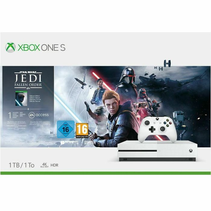 Cheap Xbox One S 1TB Star Wars Jedi Fallen Order Console Only £201.99