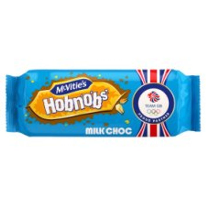 Chocolate Hobnobs Milk or Dark Chocolate 262G - Half Price