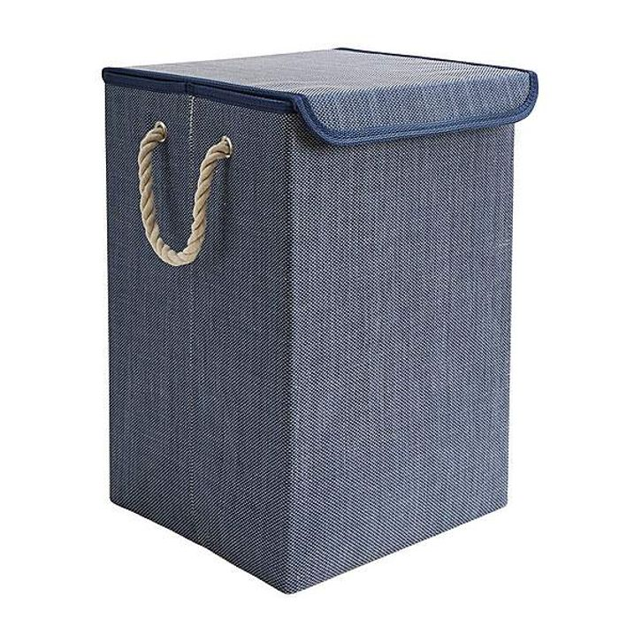 *HALF PRICE* Navy Collapsible Laundry Basket Grey or Navy.