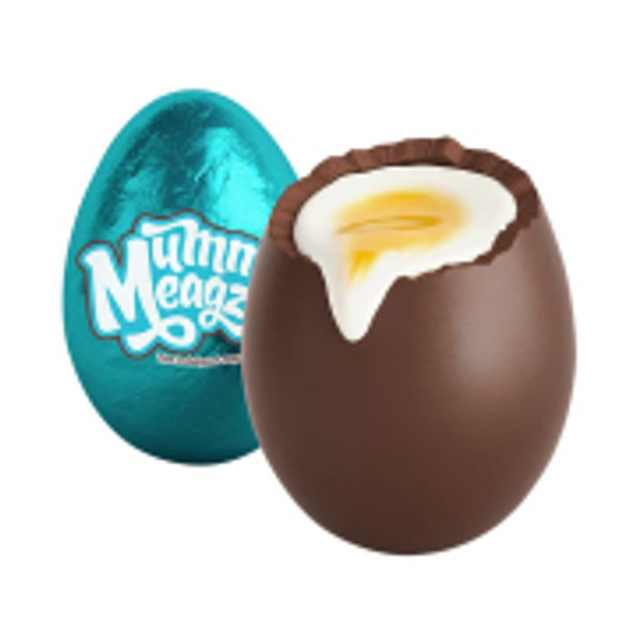 Mummy Meagz Vegan Chuckie Egg (Vegan Creme Egg plus Palm Oil Free!)