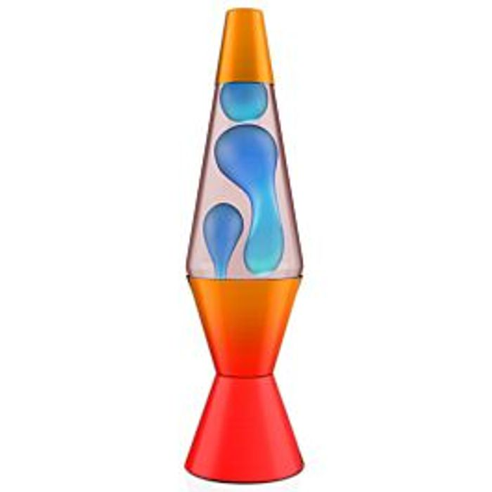 "Best Price! 14.5"" Fire Ombre Lava Lamp"