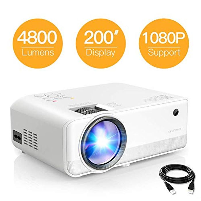 4800 Lumen Mini Portable Projector