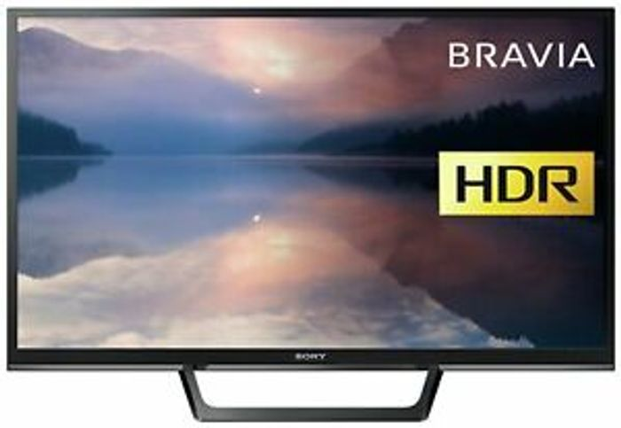 Sony KDL32RE403BU 32 Inch HD Ready 720p HDR Freeview LED TV - Black.