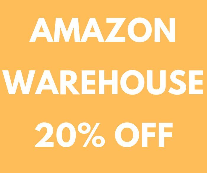 Amazon Warehouse 20% Off Select Products