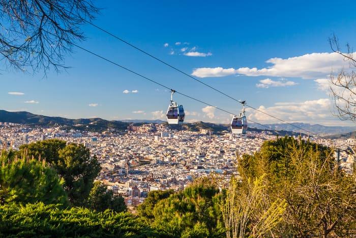 4* Barcelona Break, Breakfast & Breathtaking Montjuic Cable Car Experience