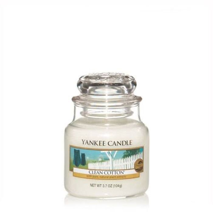 Yankee Candle Clean Cotton Small Jar £1.80 with Student Discount) Instore Boots