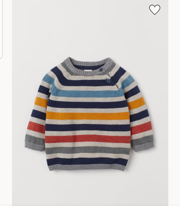 H&M Baby Knitted Cotton Jumper
