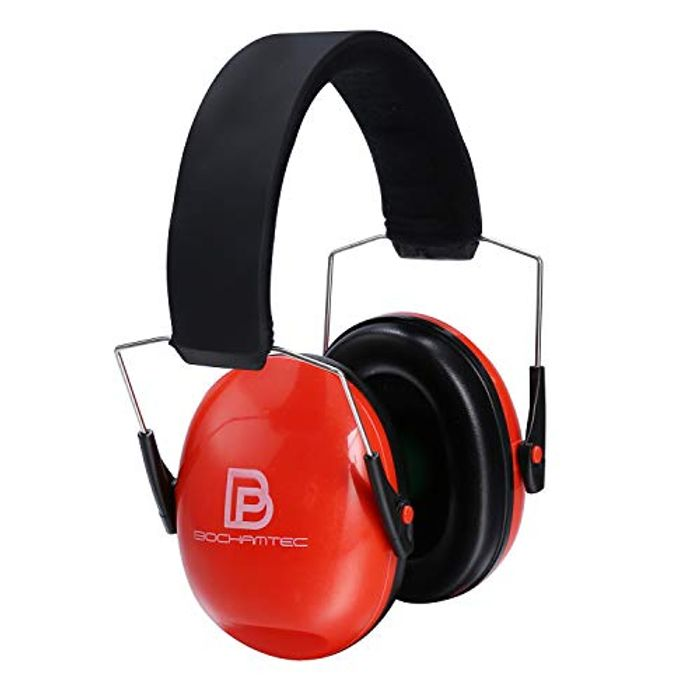 Bochamtec Ear Protection Safety Noise Reduction Ear Muffs, NRR 23dB