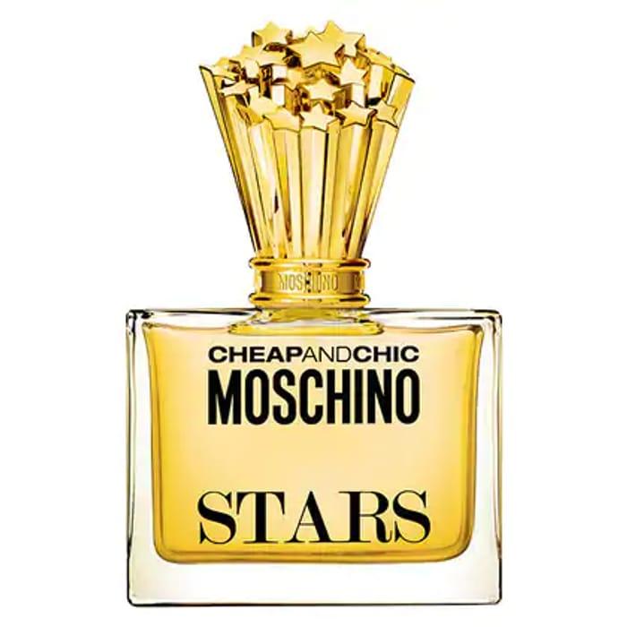 Cheap Moschino Cheap & Chic Stars EDP 50ml +Free Makeup Bag Only £12.99