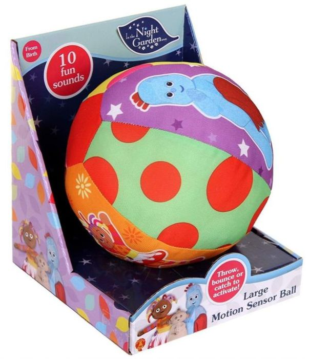 In the Night Garden Motion Sensor Ball with Sounds and Phrases