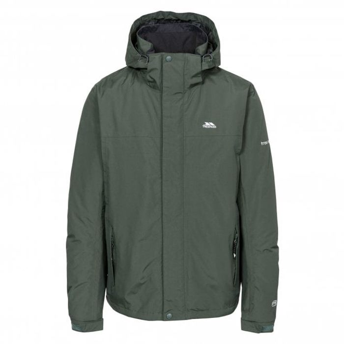 TRESPASS Donelly Waterproof Jacket - Olive