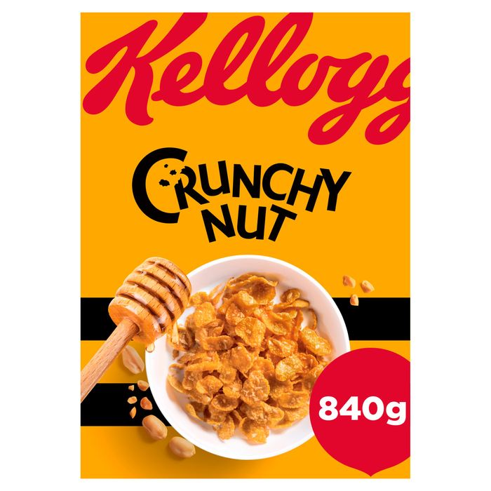 Best Price! Kellogg's Crunchy Nut 840G with £1 Off at Tesco