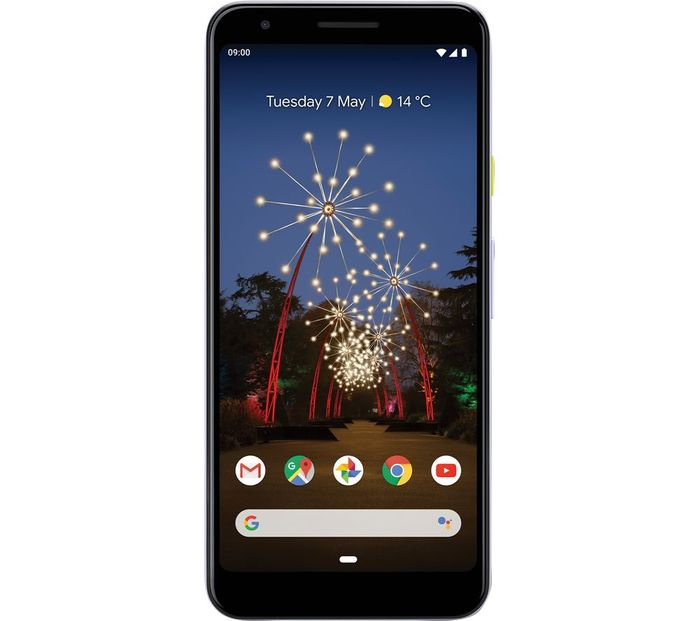 Cheap GOOGLE Pixel 3a - 64 GB, Purple-Ish, reduced by £70!