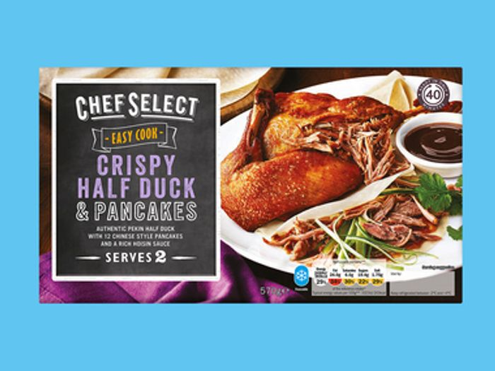 Chef Select Crispy Half Duck Pancakes 3 79 At Lidl Offers Latestdeals Co Uk