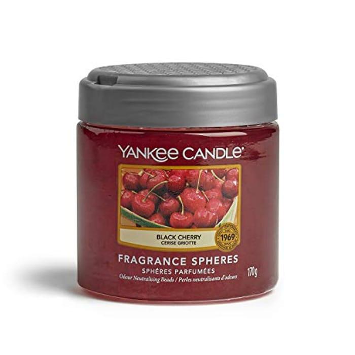Yankee Candle Fragrance Spheres Air Freshener, Black Cherry