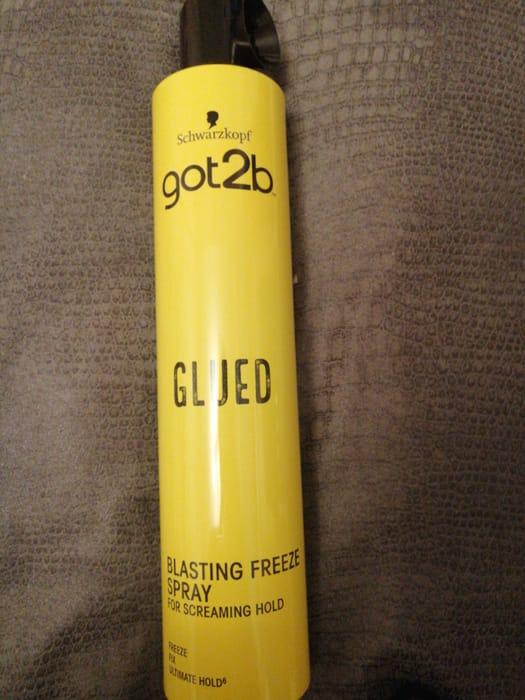 Schwarzkopf Got 2 B Glued Hairspray