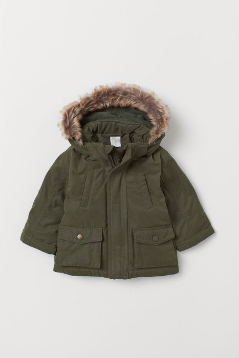Padded Baby and Toddler Parka at H&M - Only £8!