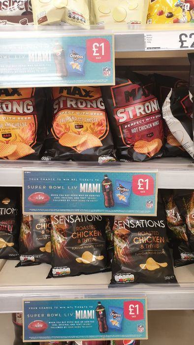 Best Price! 3150g Walkers Sensations and Max Strong £1