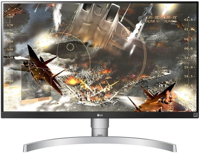 "LG 27UL650 27"" Class 4K UHD IPS LED Monitor with VESA DisplayHDR 400"