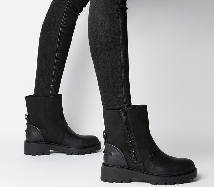 Cheap UGG Polk Zip Boot Black at Office Shoes Only £68!