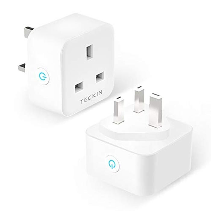 Cheap 2 Smart Plugs Compatible with Alexa & Google Home, Only £14.99!