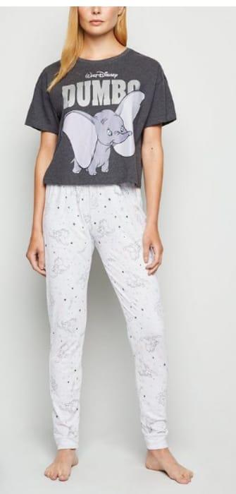 Light Grey Disney Dumbo Jogger Pyjama Set