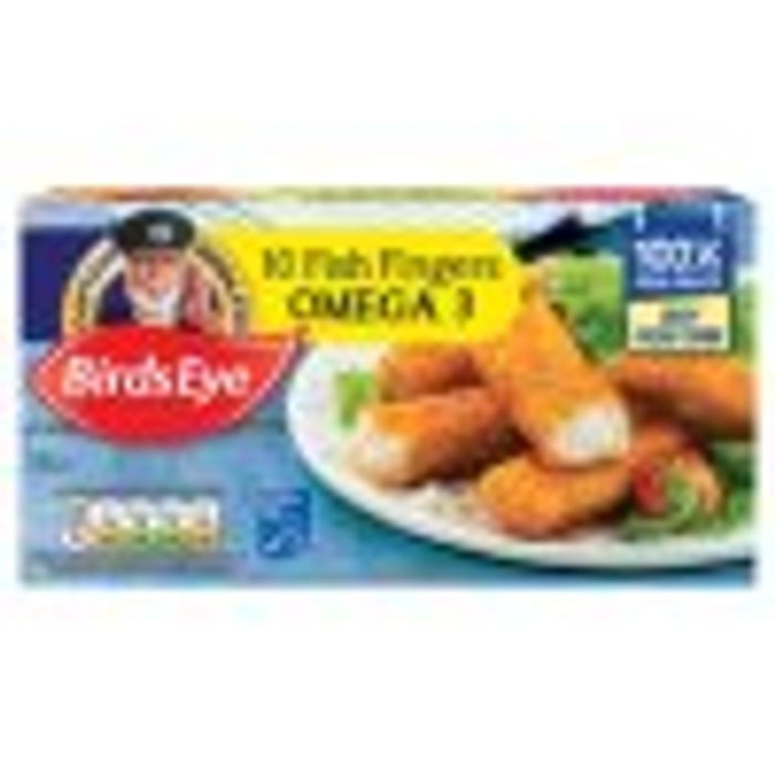 Birds Eye Omega 3 Fish Fingers X10 280g